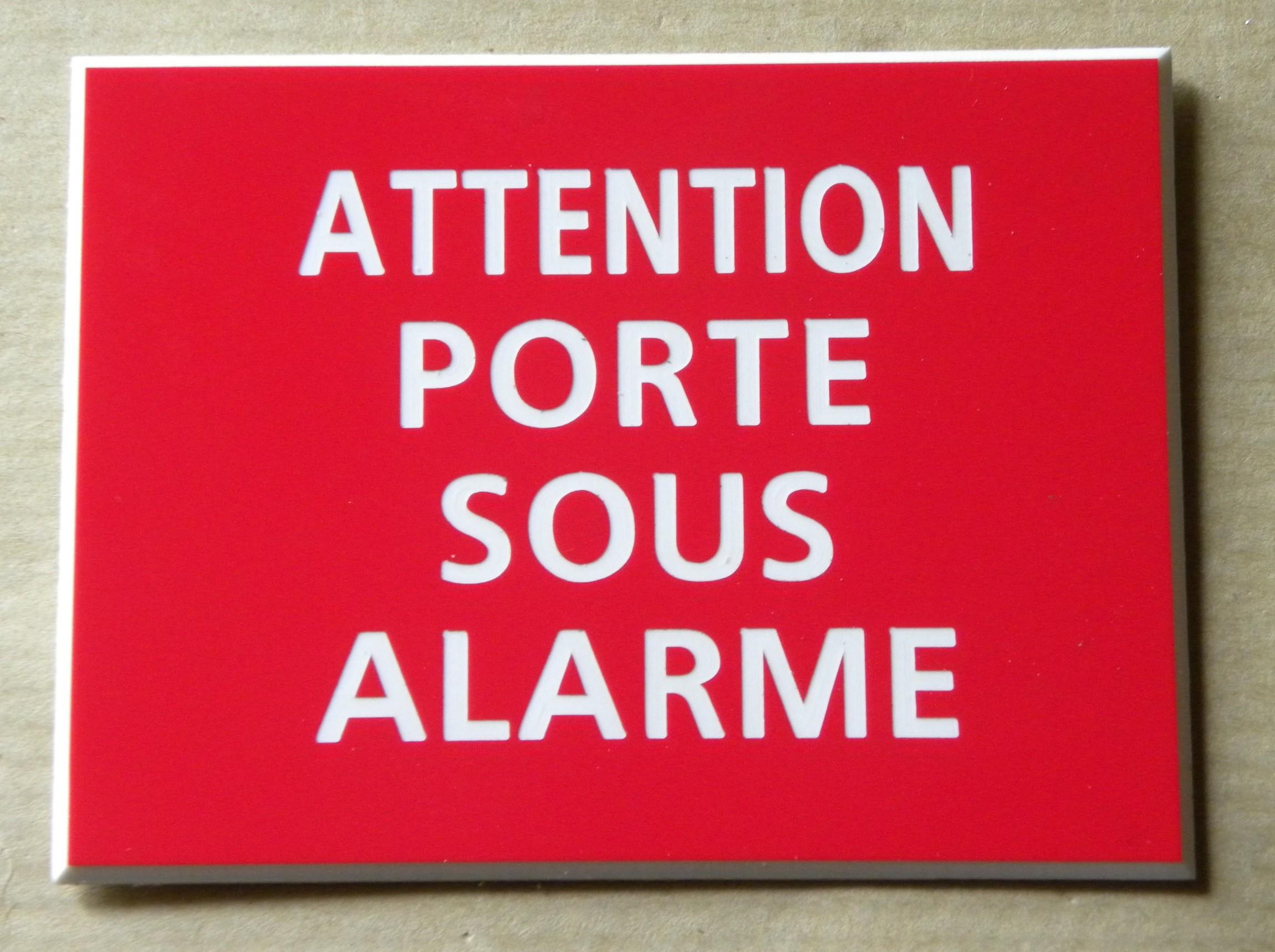 plaque gravée PROPRIETE PRIVEE PLAQUE SIGNALETIQUE Format 50 x 75 mm