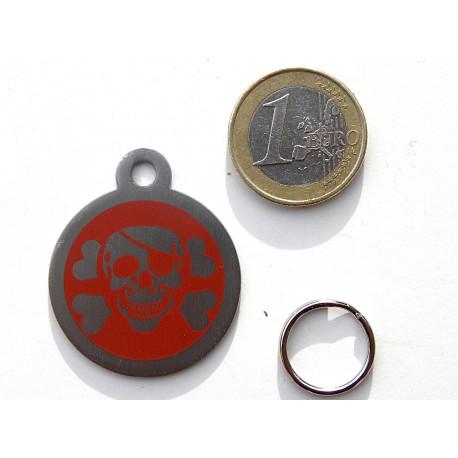 Médaille chien acier corsaire gravure gratuite